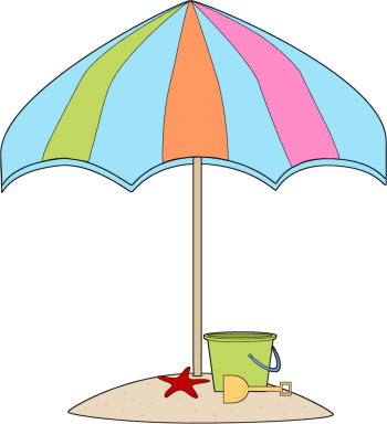 Summer Sand Clip Art - Summer Sand Image. UMBRELLA BEACH CLIP ART .