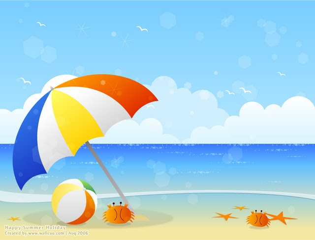 Summer Scene Clipart - Clipart .-Summer Scene Clipart - Clipart .-0