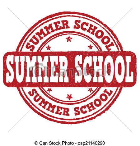 ... Summer school stamp - Summer school grunge rubber stamp on.