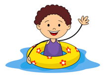Summer Sports Kid With Airtube In Pool C-Summer Sports Kid With Airtube In Pool Clipart Size: 105 Kb-11