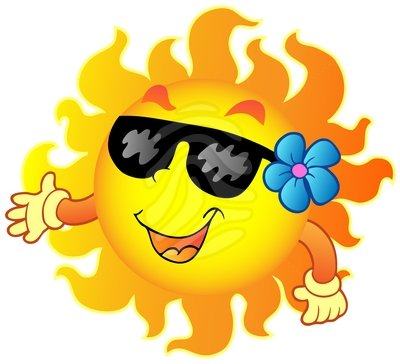 Summer Sun Clipart Clipart Panda Free Clipart Images