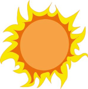 sun clip art - Clipart Of The Sun
