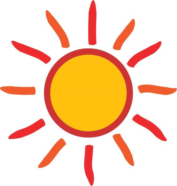 sun clipart transparent background