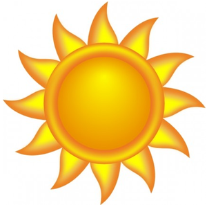 sun clipart - Clipart Of The Sun