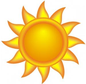 sun clipart - Clipart Of The Sun