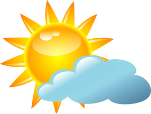 Sun Cloud Clipart-sun cloud clipart-9