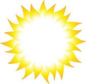 sun rays clipart