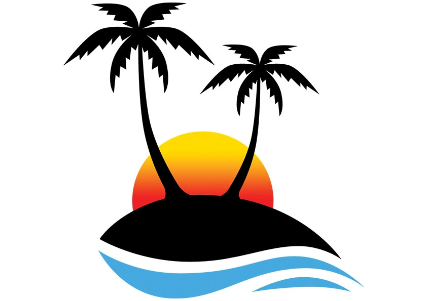 Sun And Palm Tree Clipart Free-Sun And Palm Tree Clipart Free-17