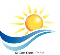 ... Sun And Water Waves, Vector Design E-... sun and water waves, vector design elements-10