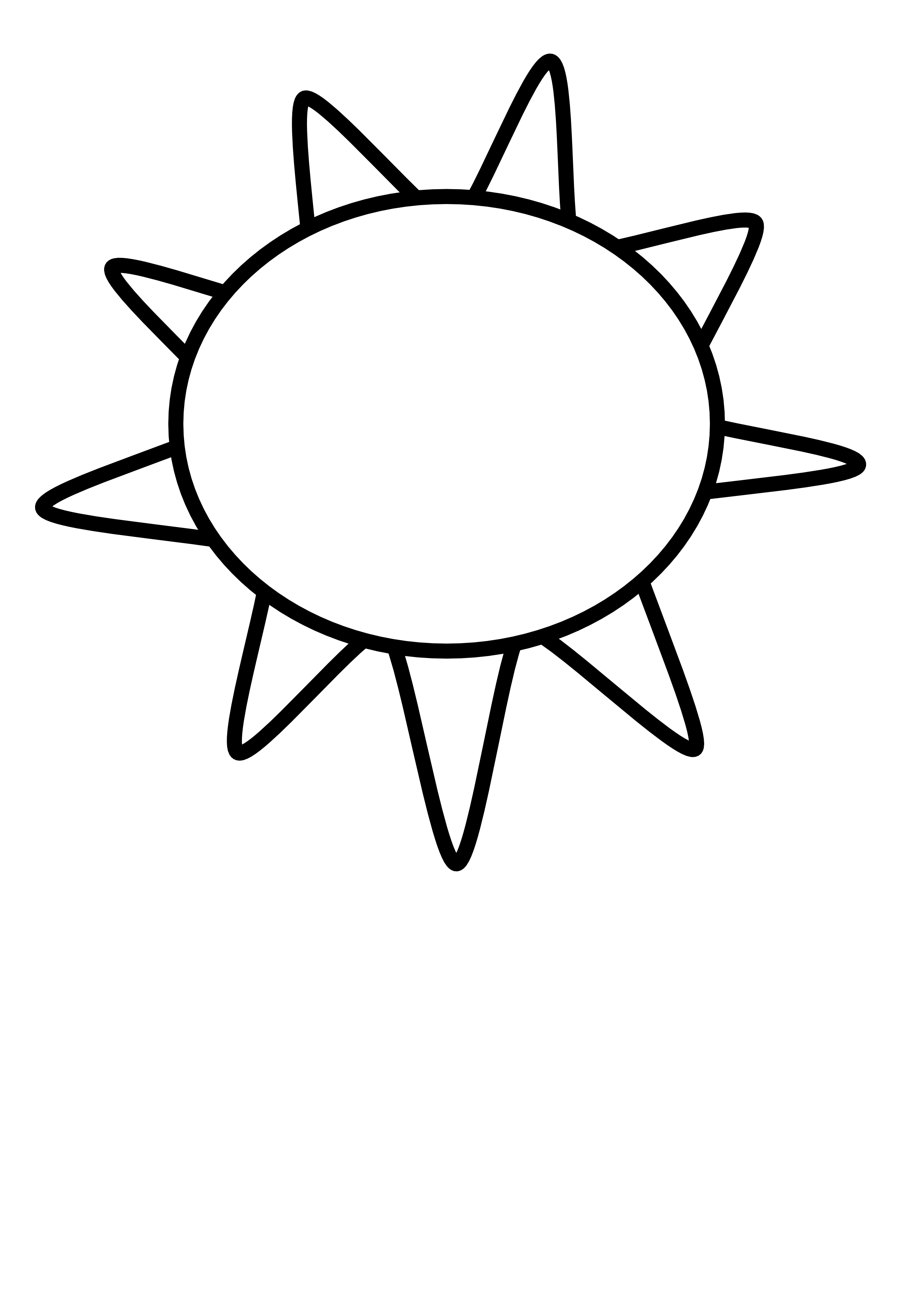 Sun Clip Art Black And White Sun Outline-Sun Clip Art Black And White Sun Outline Black White Line Art Coloring-11