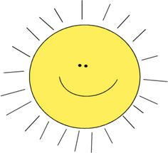Sun clip art images for teachers, classroom lessons, websites, scrapbooking, print projects, blogs, e-mail and more.