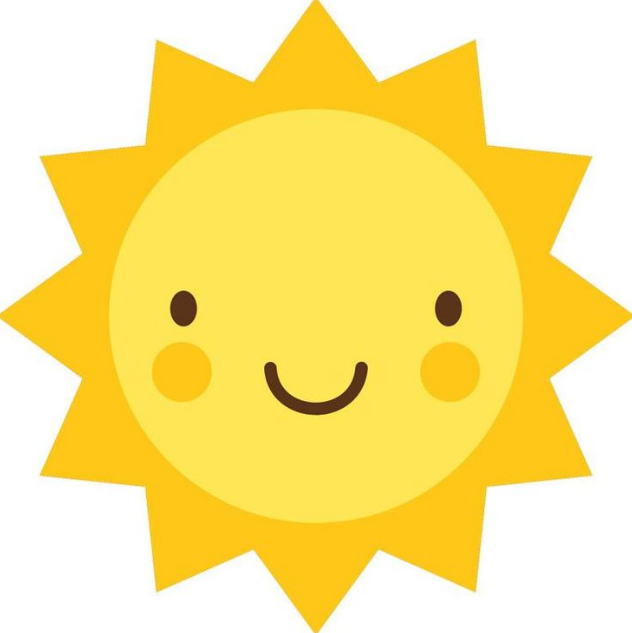 Cute sun clipart free download on png