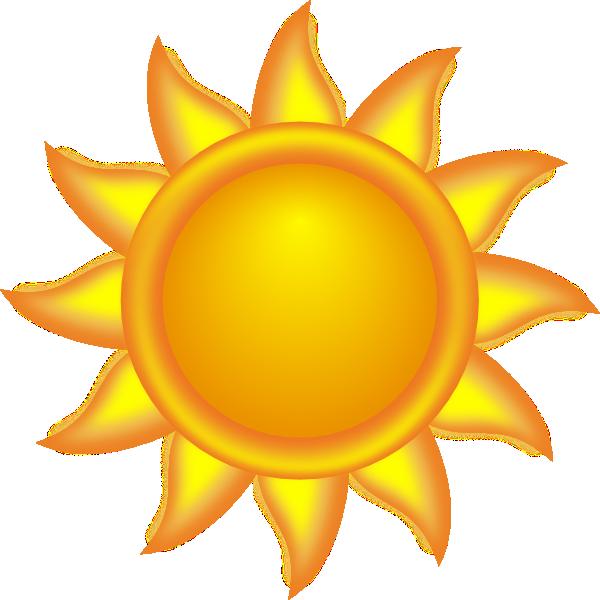 Sun Clipart | Decorative Sun clip art - vector clip art online, royalty  free .