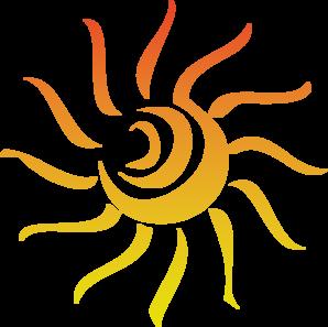 Sun Rays Clip Art - Sun Rays Clip Art