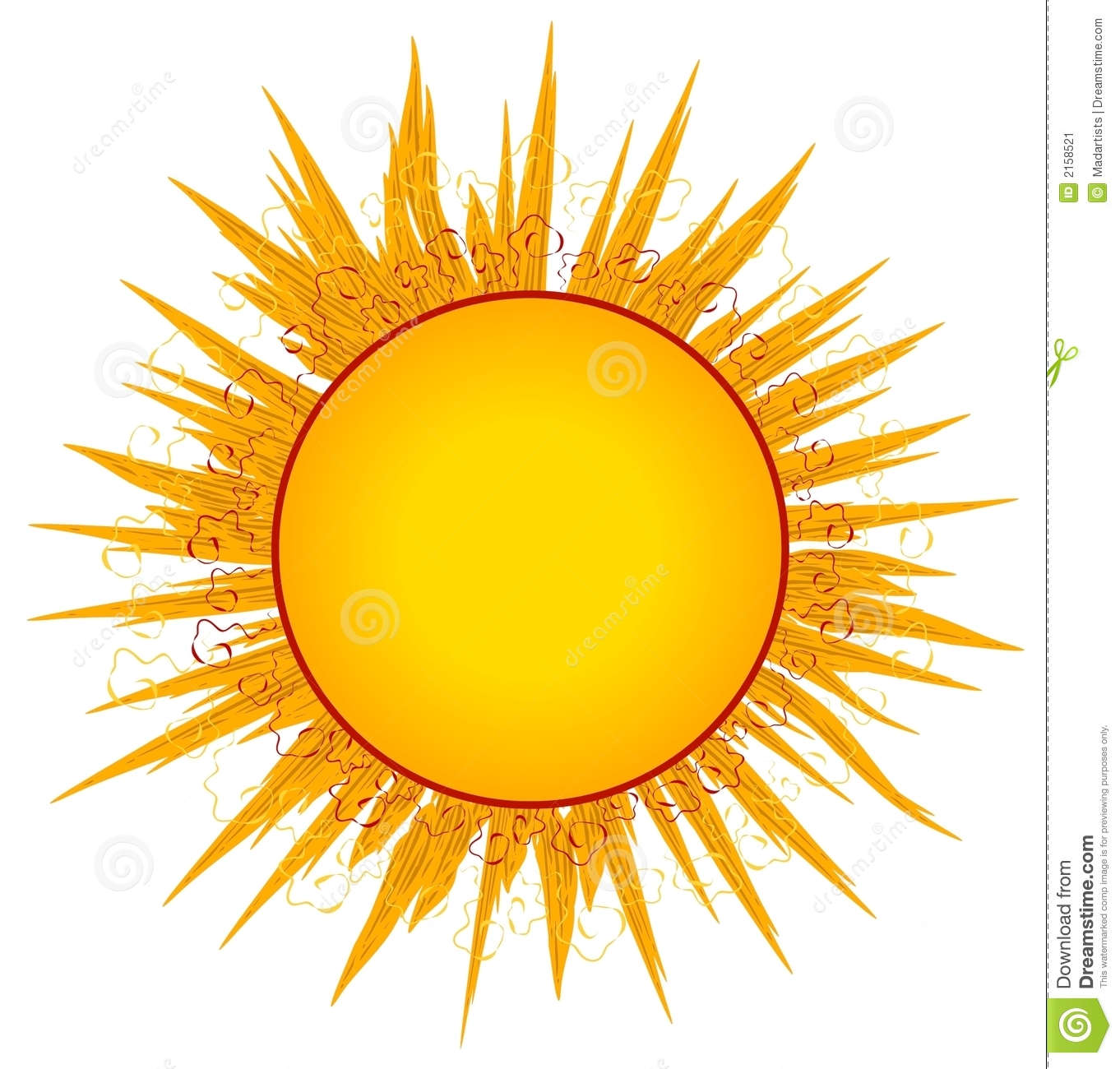 Sun Sunrays Clip Art or Logo-Sun Sunrays Clip Art or Logo-15