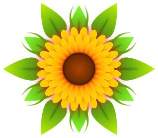 Sunflower Clip Art u0026amp;  - Sun Flower Clip Art