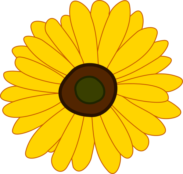Sunflower clip art clipart clipart clipartbold