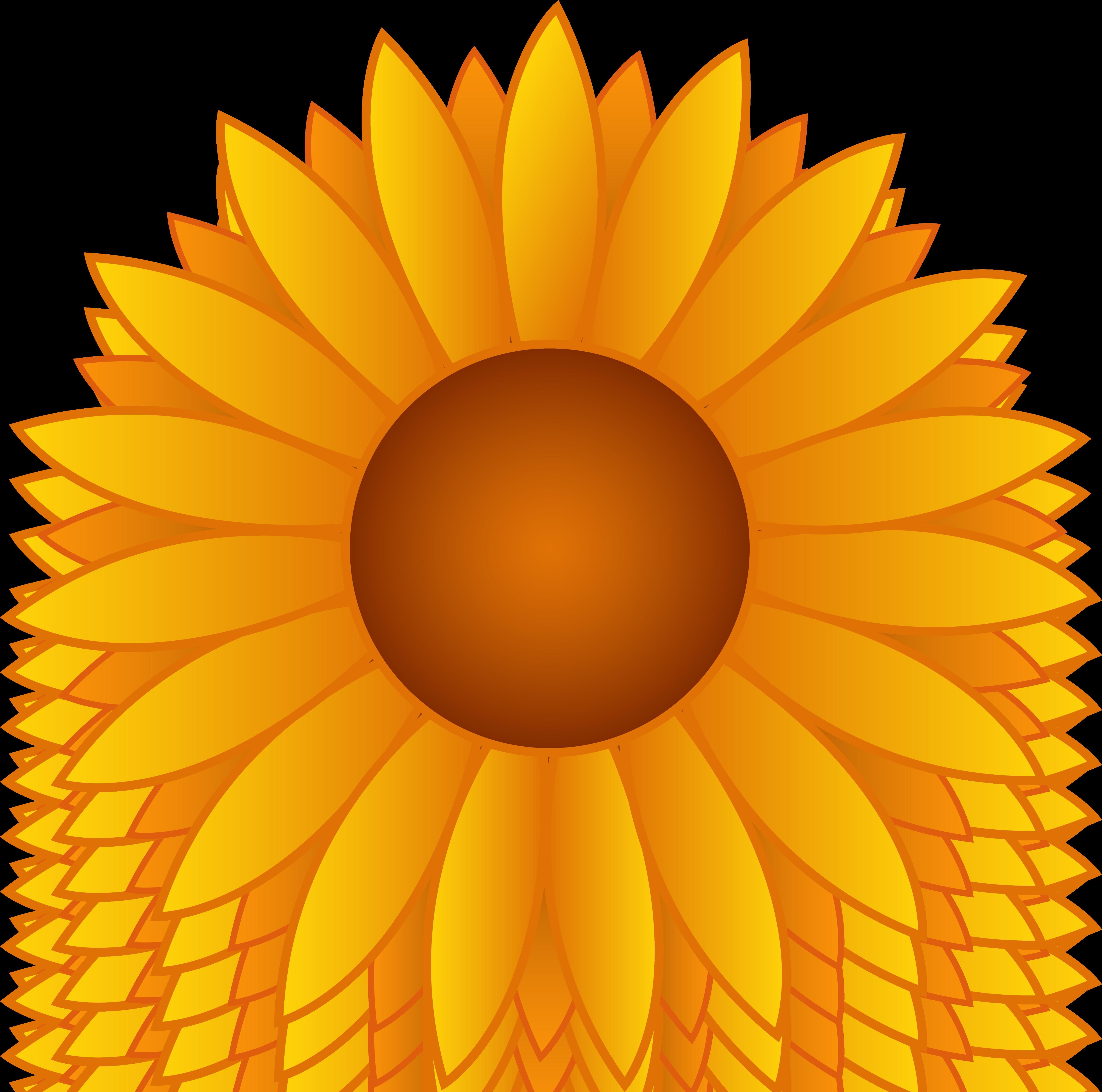 Sunflower Clip Art-Sunflower Clip Art-2