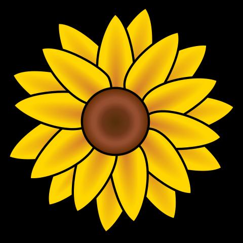 Sunflower Clip Art-Sunflower Clip Art-13