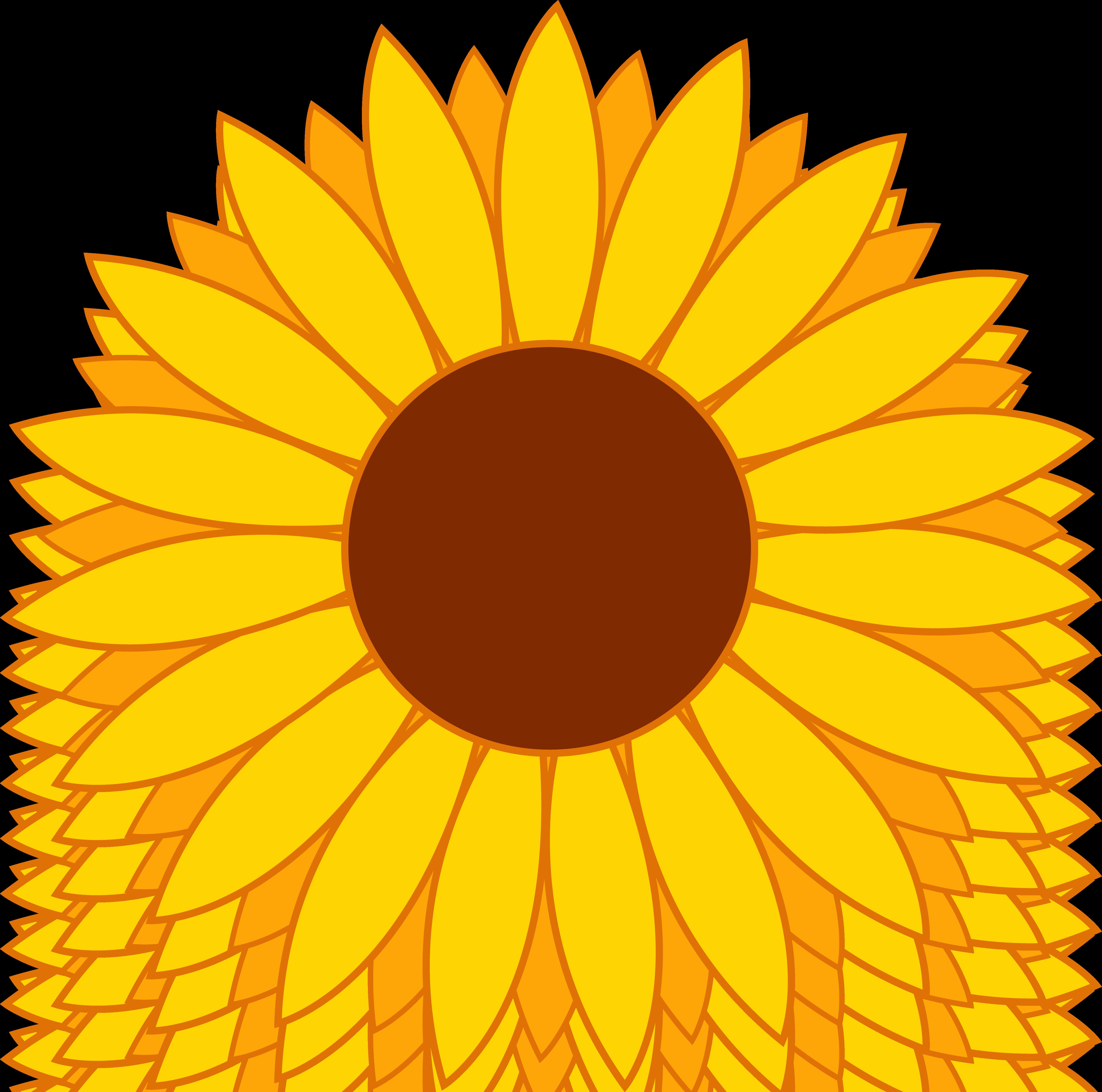 Sunflower Clipart-Sunflower Clipart-17