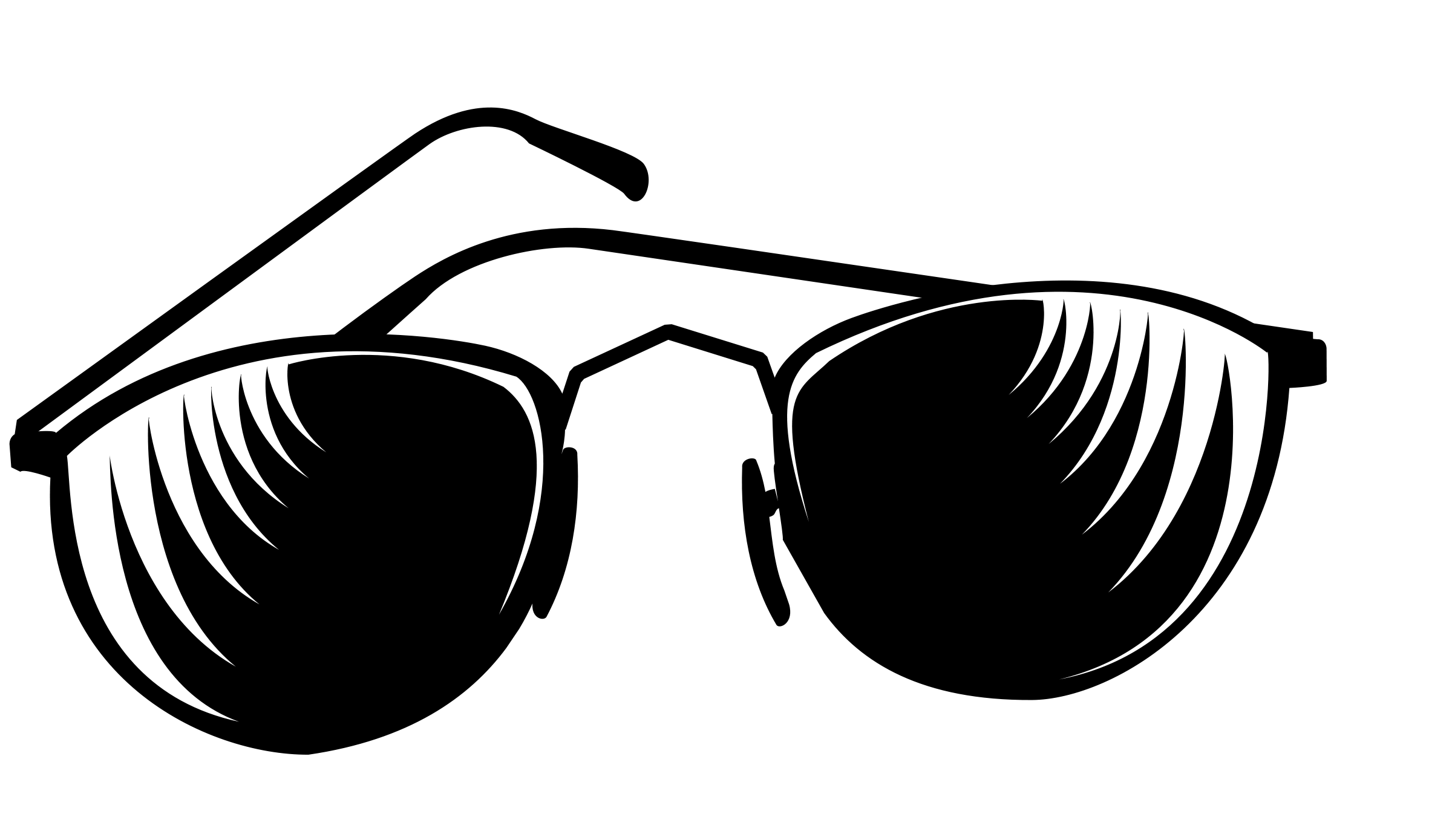 Sunglasses clip art black and white free clipart