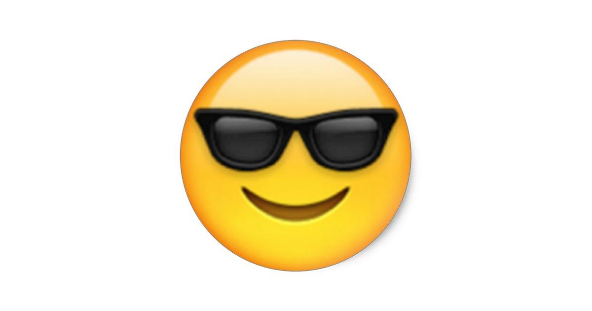 Sunglasses Emoji Clipart-Clipartlook.com-1200