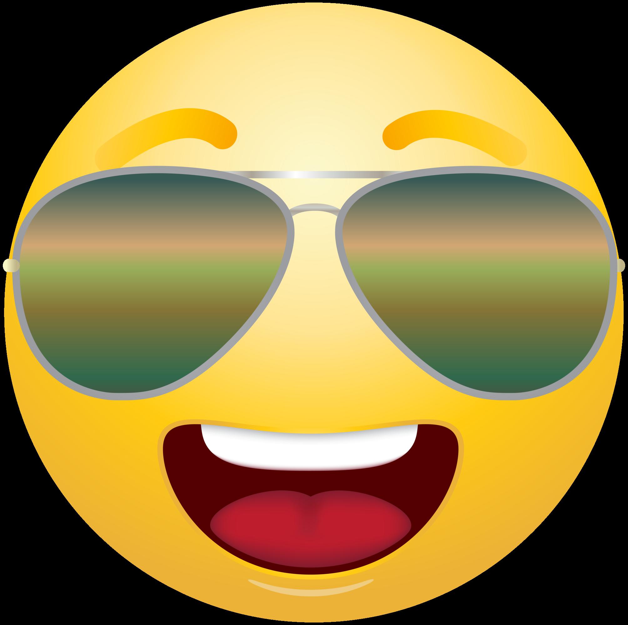 Sunglasses Emoji Clipart-Clipartlook.com-2009