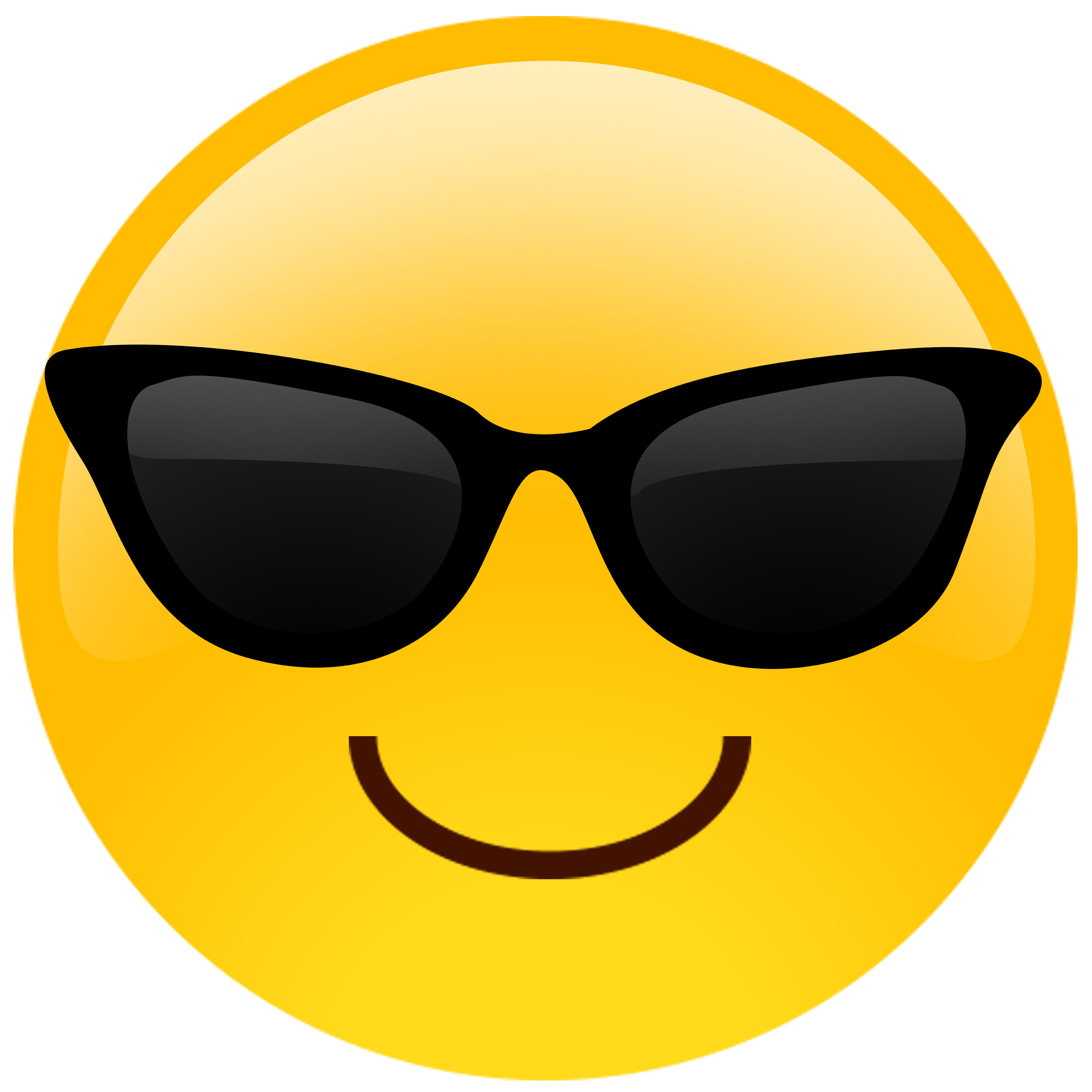 Oversized Sunglasses Cutout Emoji By Bui-Oversized Sunglasses Cutout Emoji by Build-A-Head-10