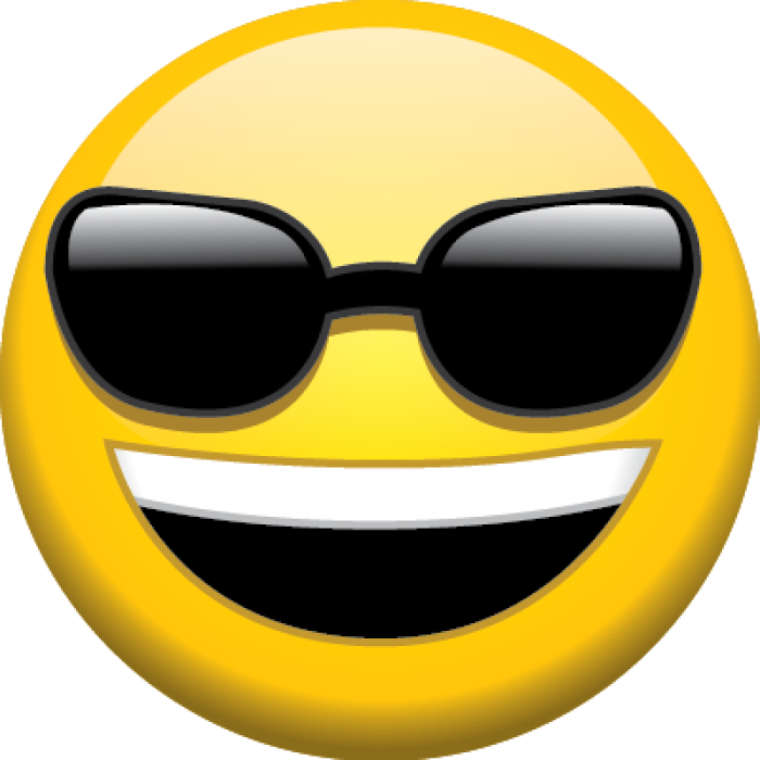 Sunglasses Emoji Transparent Background