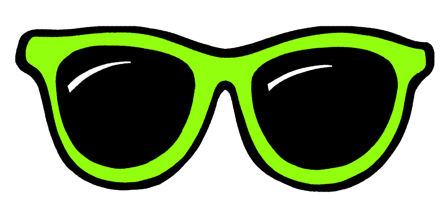 Sunglasses glasses clip art clipartcow