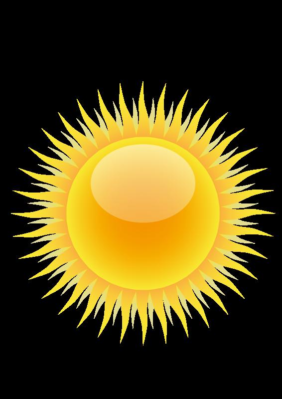 Sunny clipart 3