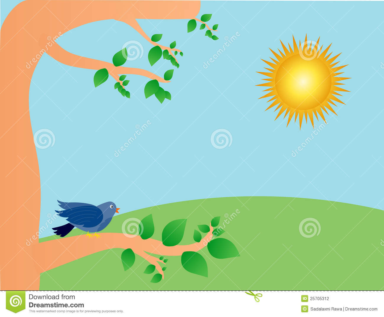 Sunny Day Stock Photography Image 25705312