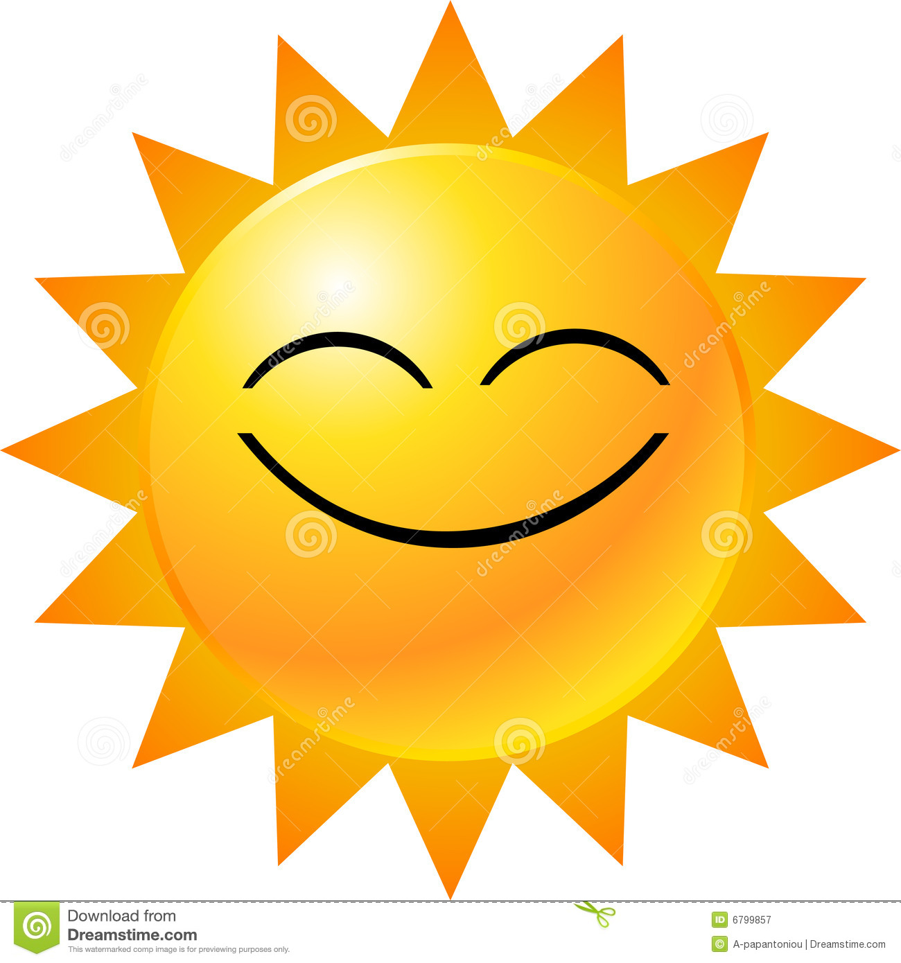 Good morning sunny clipart