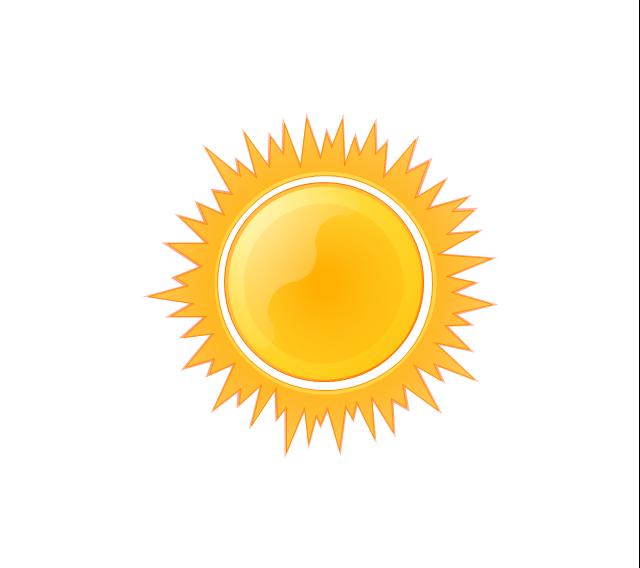 Sunny Weather Clipart-Sunny weather clipart-14
