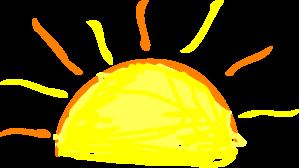 Sunrise clipart free clipart images