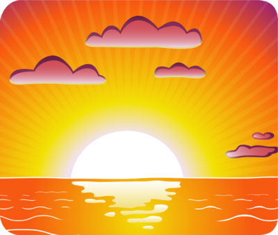 Sunset cliparts. Sunset cliparts. Clipart Sunset