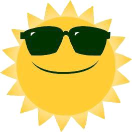 Sunshine free sun clipart .
