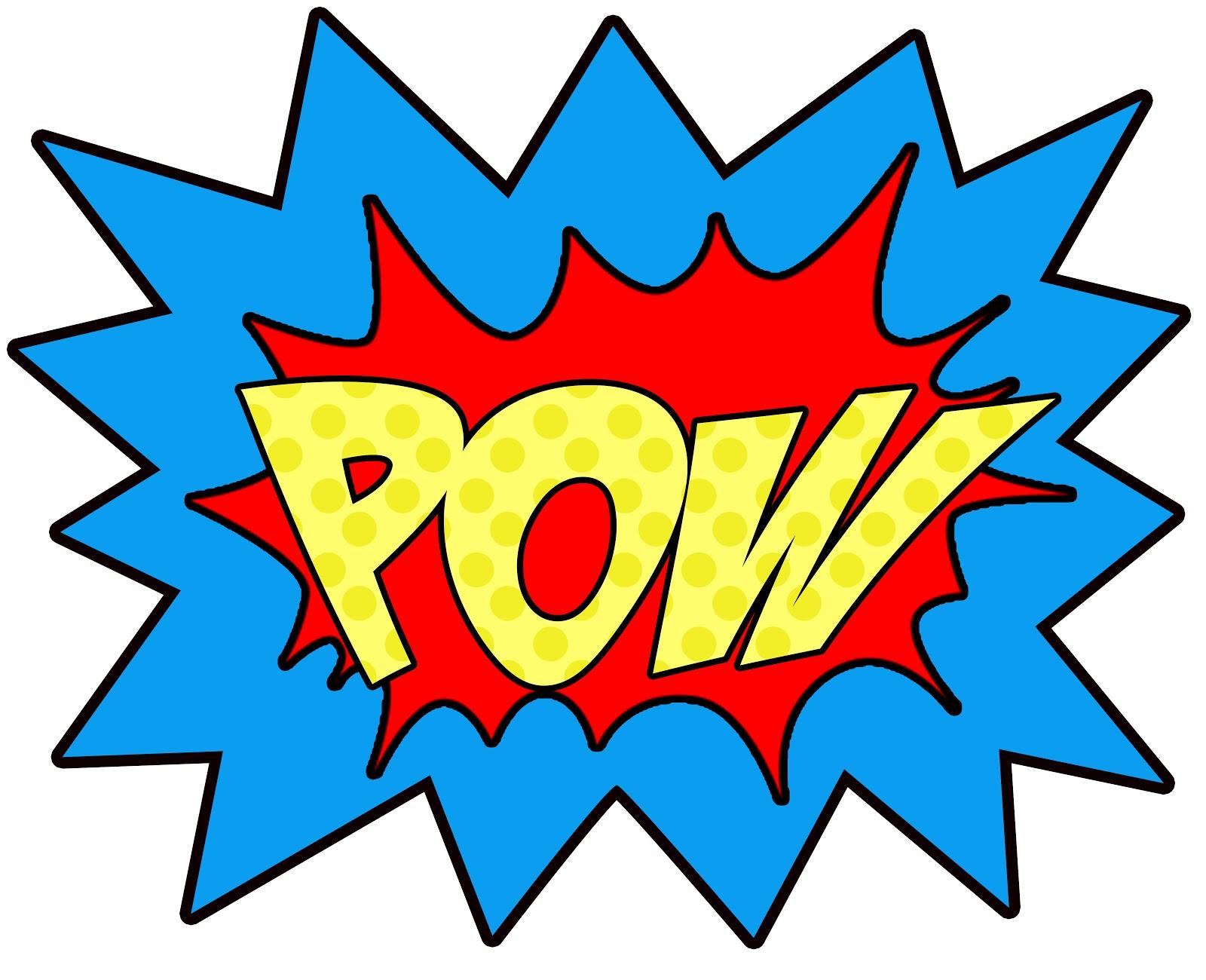 super hero words clip art-super hero words clip art-9