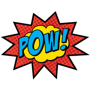super hero words clip art-super hero words clip art-0