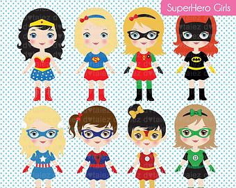 Super Girls, Comic Girl, Super Girl, Sup-Super Girls, comic girl, super girl, superhero clipart u0026amp; printable-13