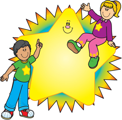 Super Star Student Clipart Cl - Super Star Clip Art