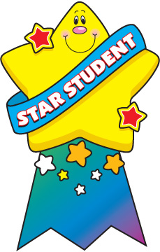 Super Star Student Clipart Su - Super Star Clip Art