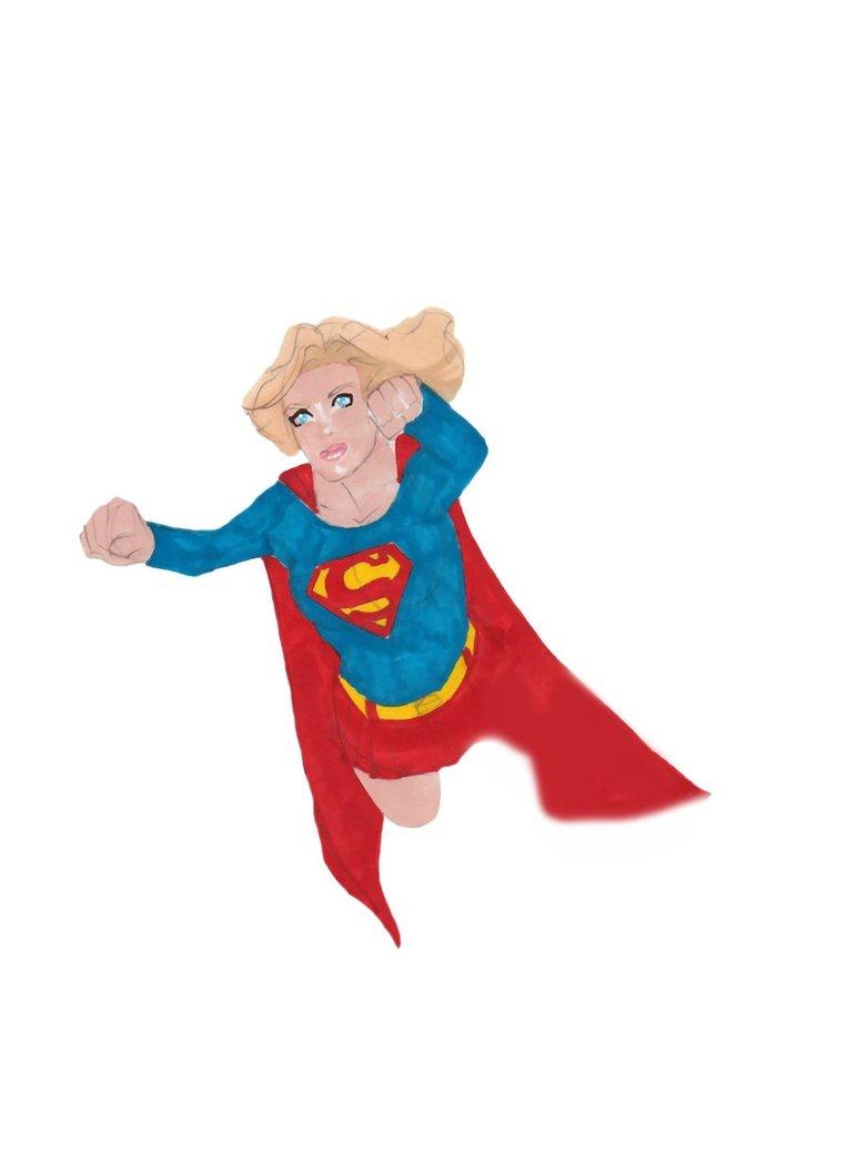 Supergirl Clip Art-Supergirl Clip Art-10