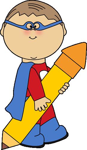 Superhero Boy with a Big Pencil-Superhero Boy with a Big Pencil-14