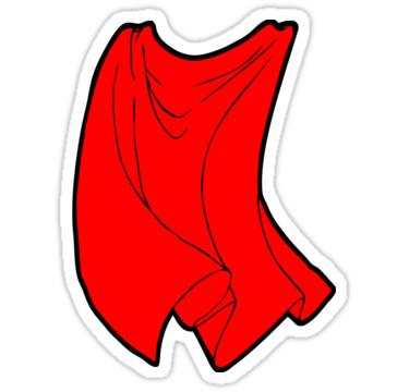 Superhero Cape Stickers By Michael Lee R-Superhero Cape Stickers By Michael Lee Redbubble-14