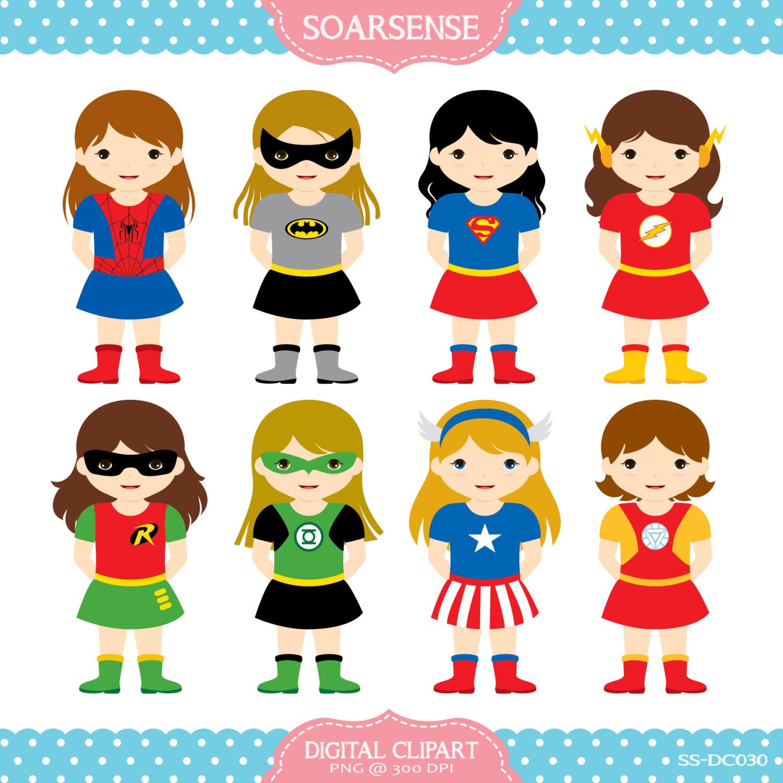 Superhero Girl Clipart - .-Superhero girl clipart - .-17