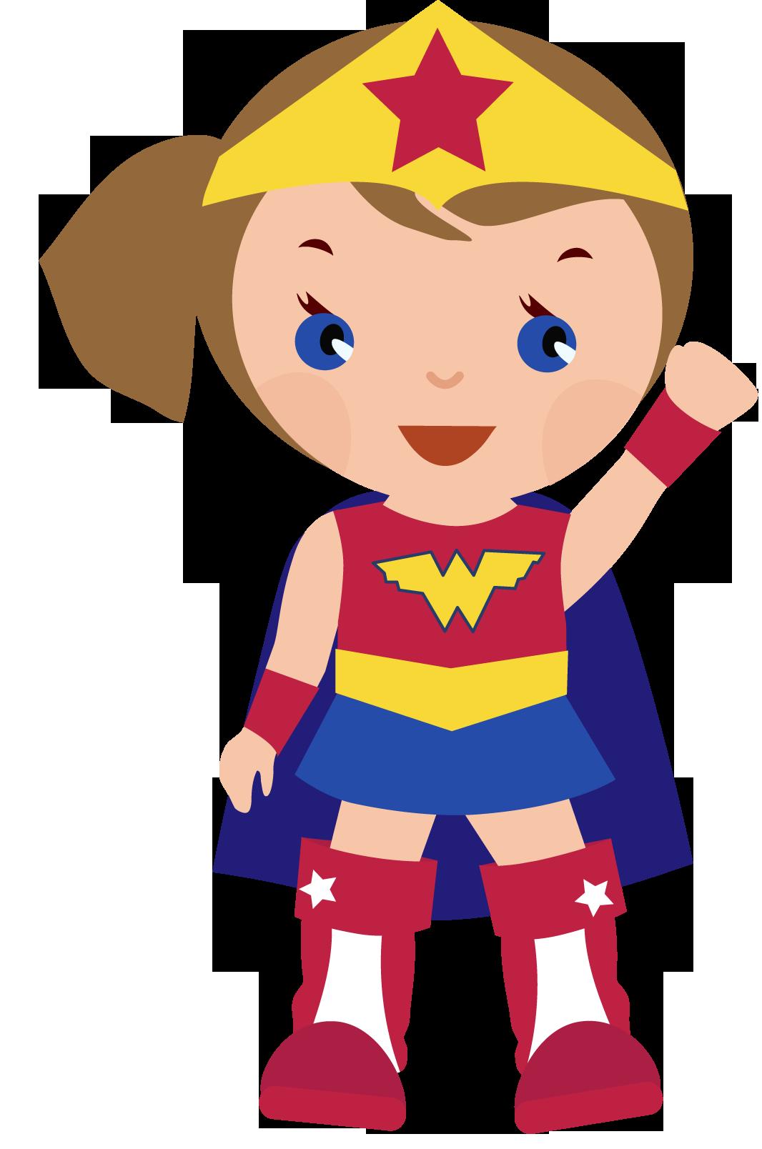Superhero girl super hero clip art free clipart images clipartcow