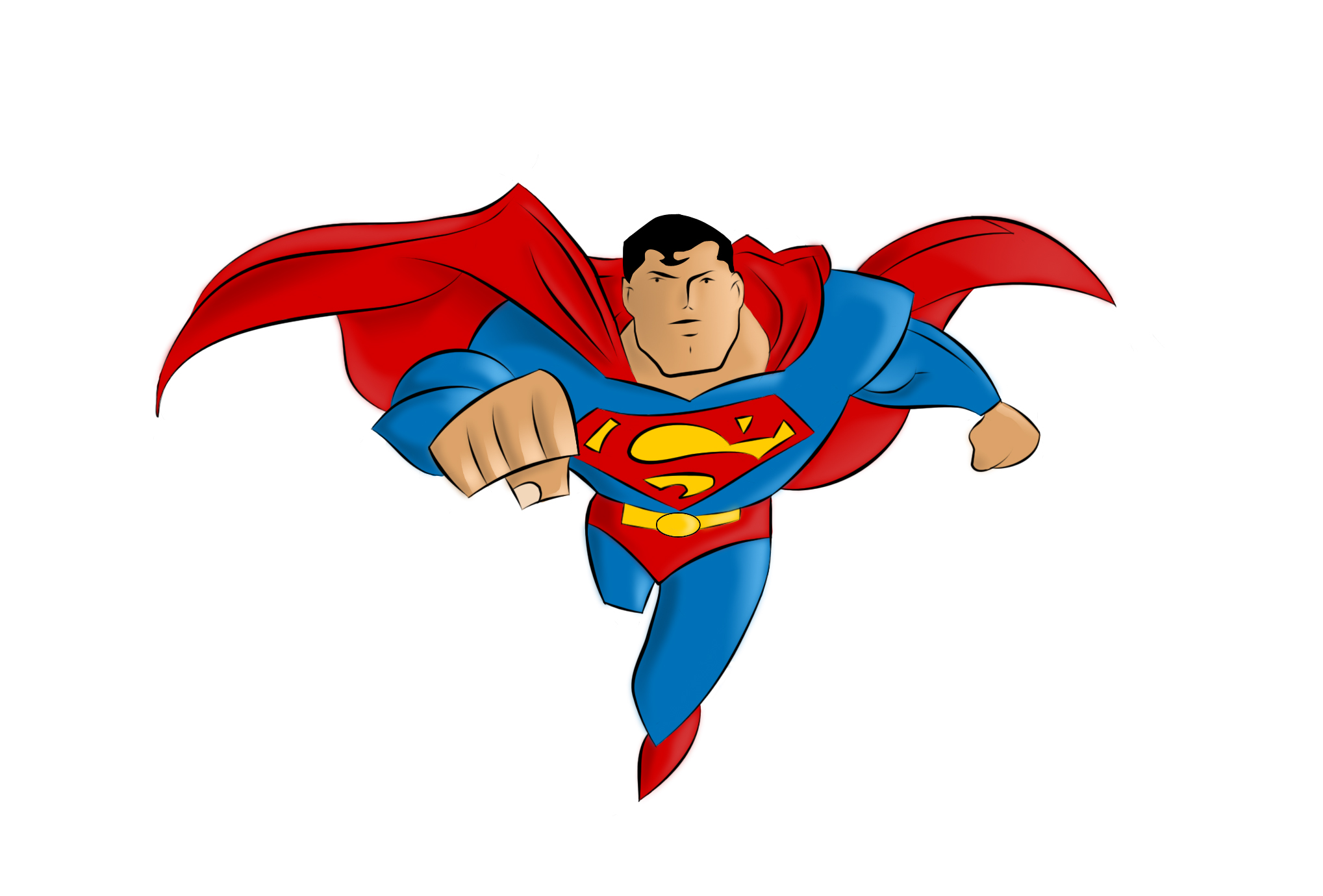 Superman Clipart-Superman clipart-3