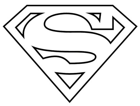 Superman Logo Black And White Clipart Fr-Superman Logo Black And White Clipart Free Clipart-11