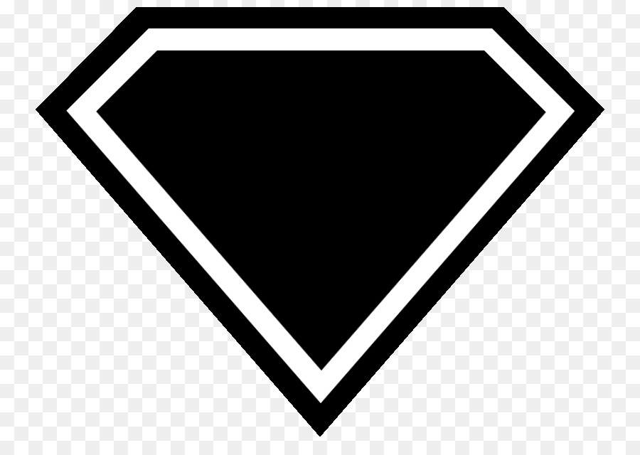 Clark Kent Superman logo Whit - Superman Logo Clipart